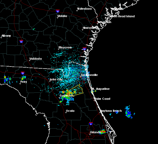 Radar Image for Severe Thunderstorms near Asbury Lake, FL at 7/1/2015 4:13 PM EDT