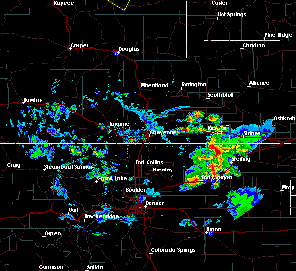 Radar Image for Severe Thunderstorms near Dix, NE at 7/19/2020 5:14 PM MDT