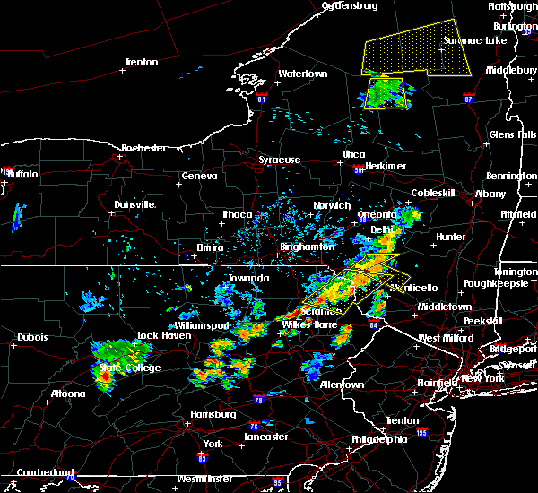 Radar Image for Severe Thunderstorms near Plymouth, PA at 7/19/2020 7:17 PM EDT