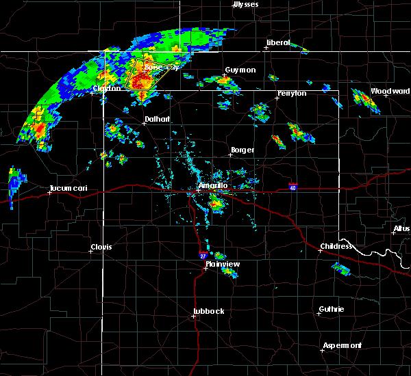 Radar Image for Severe Thunderstorms near Boise City, OK at 7/19/2020 6:19 PM CDT