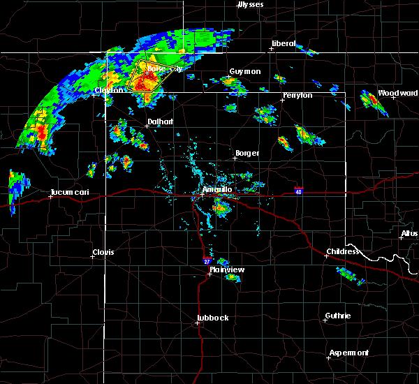 Radar Image for Severe Thunderstorms near Boise City, OK at 7/19/2020 6:30 PM CDT