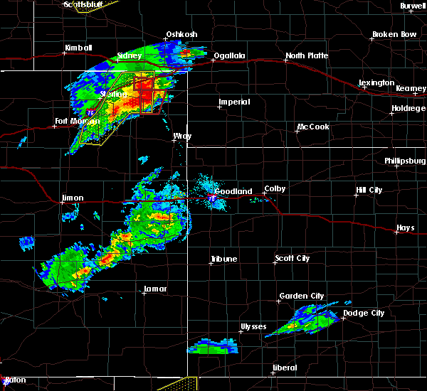 Radar Image for Severe Thunderstorms near Yuma, CO at 7/19/2020 6:23 PM MDT