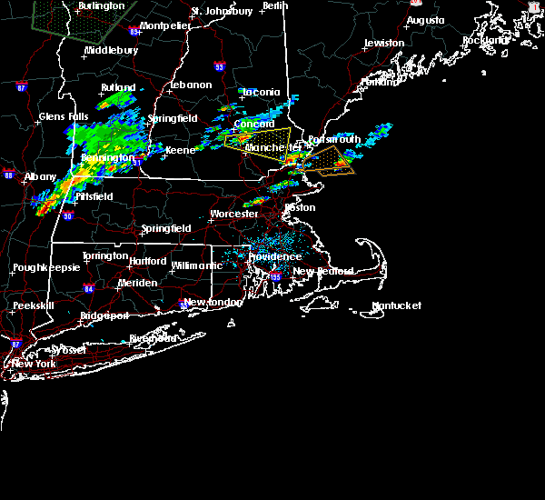 Radar Image for Severe Thunderstorms near Portsmouth, NH at 7/1/2015 4:50 PM EDT