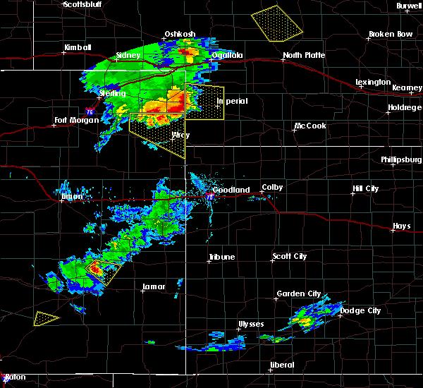 Radar Image for Severe Thunderstorms near Imperial, NE at 7/19/2020 7:12 PM MDT