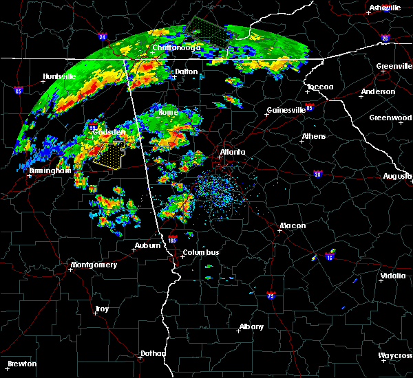 Radar Image for Severe Thunderstorms near Weaver, AL at 7/1/2015 3:55 PM CDT