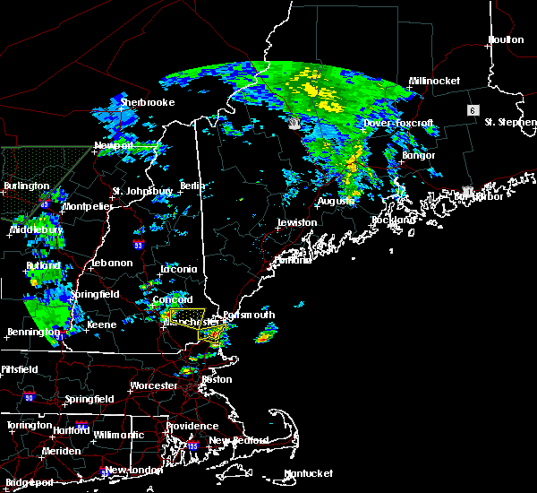 Radar Image for Severe Thunderstorms near Raymond, NH at 7/1/2015 5:02 PM EDT