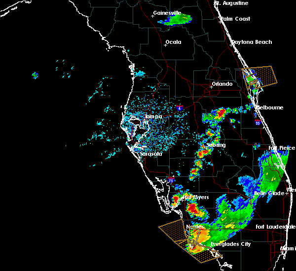 Radar Image for Severe Thunderstorms near Gateway, FL at 7/1/2015 5:24 PM EDT