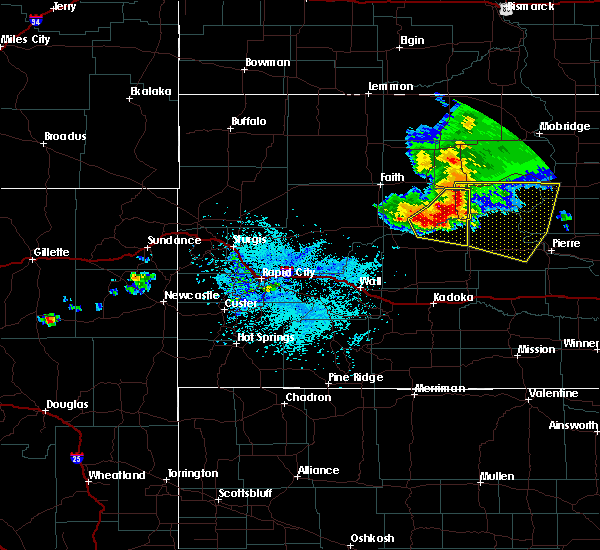 Radar Image for Severe Thunderstorms near Eagle Butte, SD at 7/20/2020 12:31 PM MDT