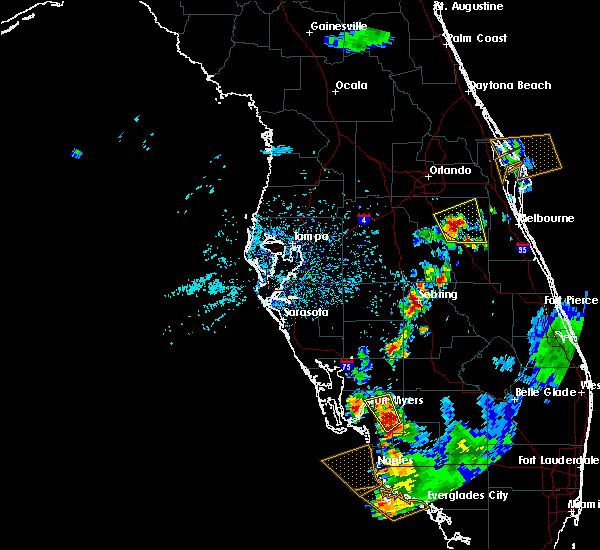 Radar Image for Severe Thunderstorms near Gateway, FL at 7/1/2015 5:43 PM EDT