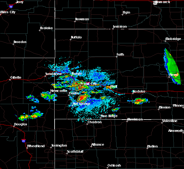 Radar Image for Severe Thunderstorms near Green Valley, SD at 7/20/2020 2:45 PM MDT