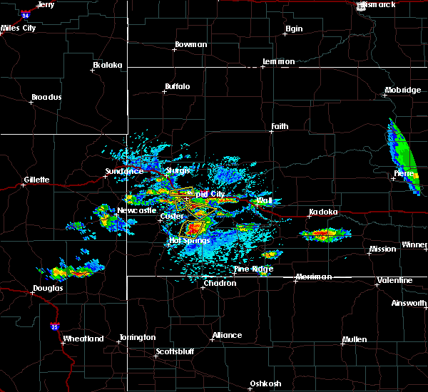 Radar Image for Severe Thunderstorms near Green Valley, SD at 7/20/2020 2:51 PM MDT