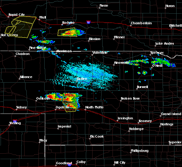 Radar Image for Severe Thunderstorms near Sarben, NE at 7/20/2020 4:15 PM CDT