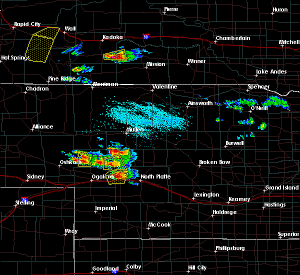 Radar Image for Severe Thunderstorms near Sarben, NE at 7/20/2020 4:38 PM CDT