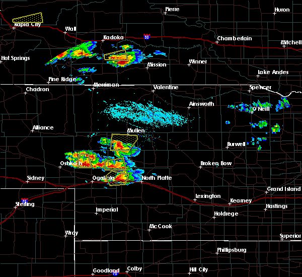 Radar Image for Severe Thunderstorms near Sarben, NE at 7/20/2020 5:02 PM CDT