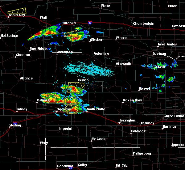 Radar Image for Severe Thunderstorms near Martin, NE at 7/20/2020 4:04 PM MDT