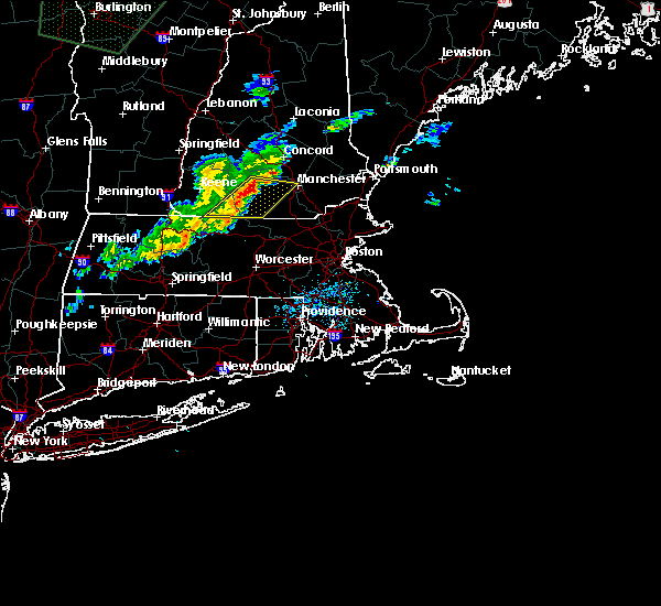 Radar Image for Severe Thunderstorms near Hudson, NH at 7/1/2015 6:31 PM EDT