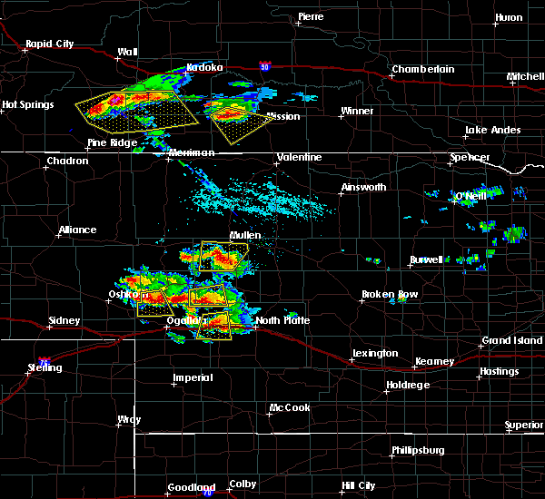 Radar Image for Severe Thunderstorms near Sarben, NE at 7/20/2020 5:14 PM CDT