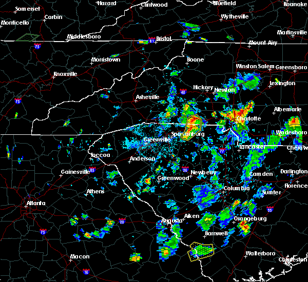 Radar Image for Severe Thunderstorms near Landis, NC at 7/20/2020 6:31 PM EDT