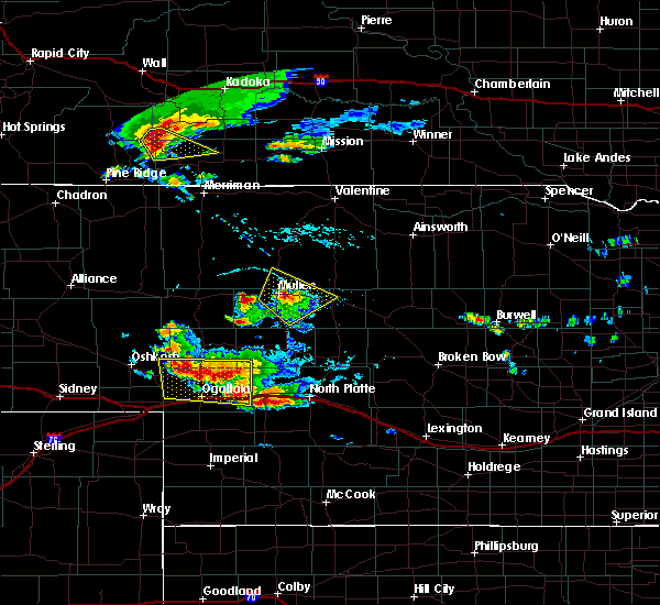 Radar Image for Severe Thunderstorms near Sarben, NE at 7/20/2020 4:48 PM MDT