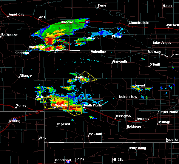 Radar Image for Severe Thunderstorms near Sarben, NE at 7/20/2020 5:09 PM MDT
