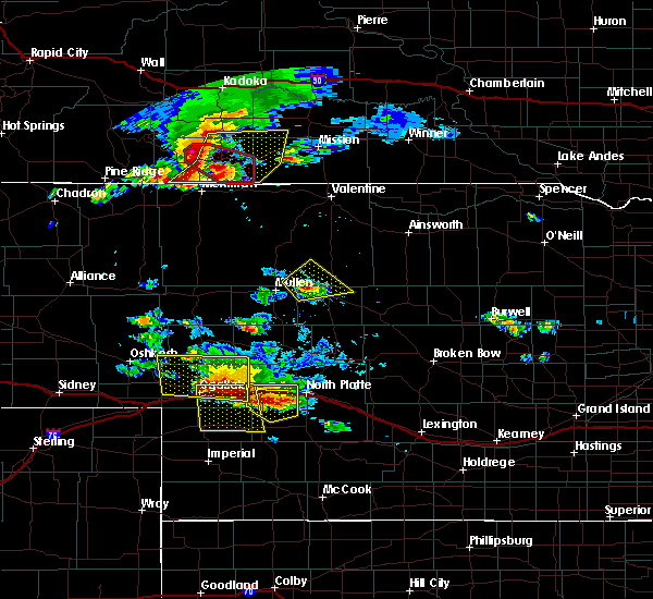 Radar Image for Severe Thunderstorms near Sarben, NE at 7/20/2020 5:30 PM MDT