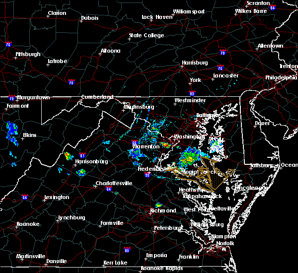 Radar Image for Severe Thunderstorms near Woodlawn, VA at 7/20/2020 8:14 PM EDT
