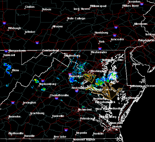 Radar Image for Severe Thunderstorms near Woodlawn, VA at 7/20/2020 8:18 PM EDT