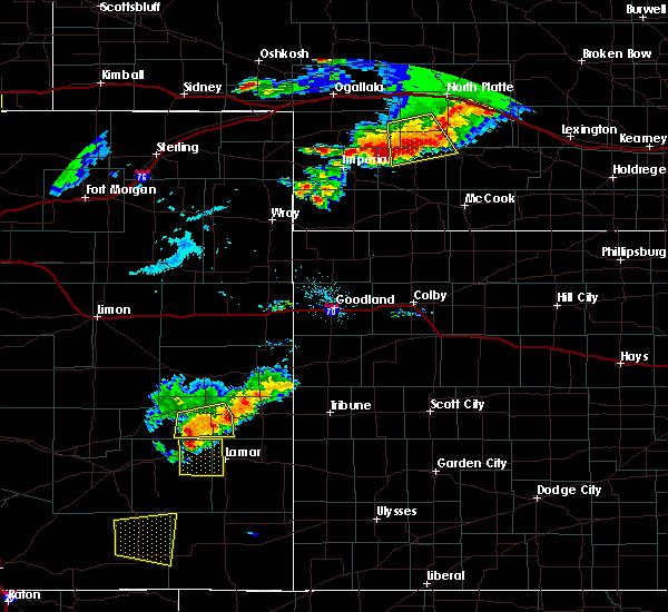Radar Image for Severe Thunderstorms near Hayes Center, NE at 7/20/2020 7:32 PM CDT