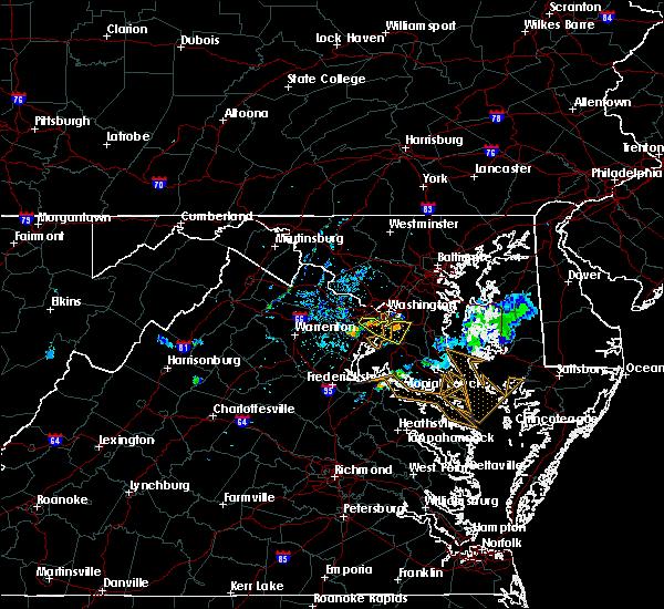 Radar Image for Severe Thunderstorms near Wakefield, VA at 7/20/2020 8:40 PM EDT