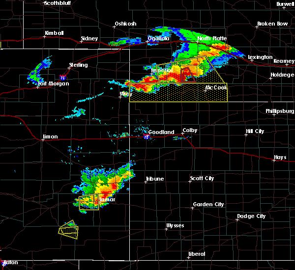 Radar Image for Severe Thunderstorms near Hayes Center, NE at 7/20/2020 8:02 PM CDT