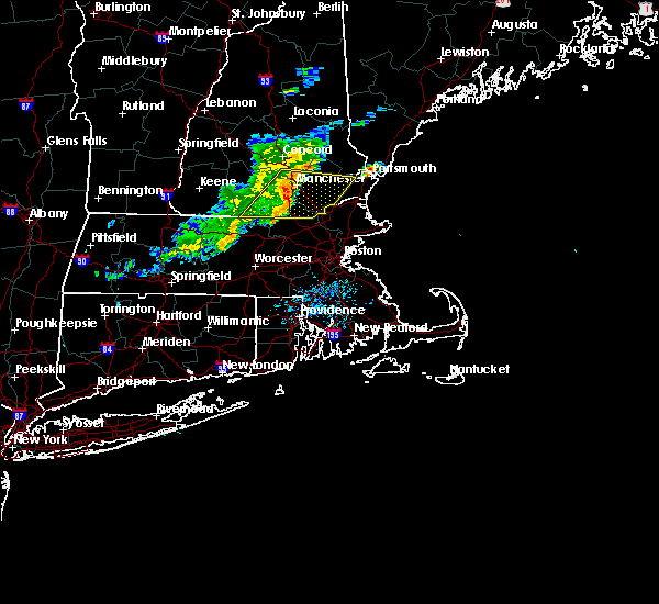 Radar Image for Severe Thunderstorms near Hudson, NH at 7/1/2015 7:10 PM EDT