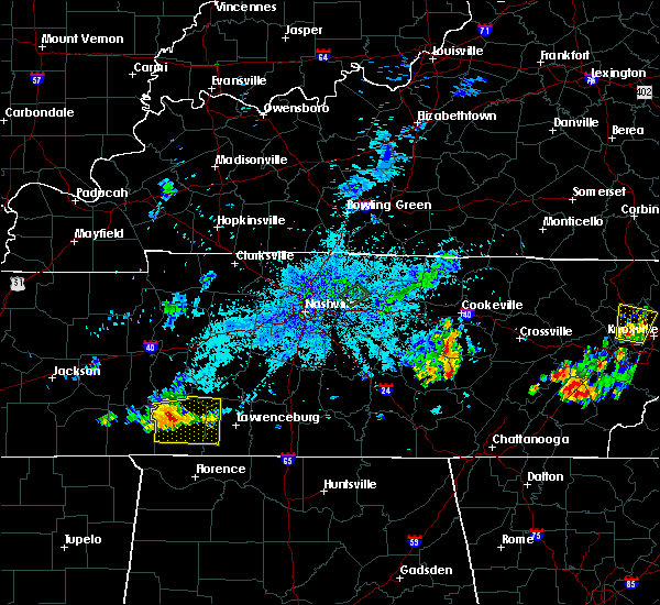 Radar Image for Severe Thunderstorms near Clifton, TN at 7/20/2020 8:49 PM CDT
