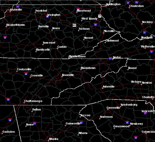 Radar Image for Severe Thunderstorms near Oak Ridge, TN at 7/20/2020 9:53 PM EDT