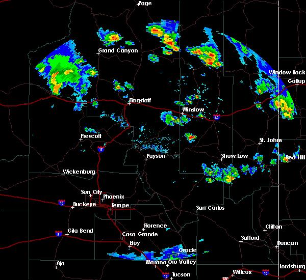 Interactive Hail Maps - Hail Map for Second Mesa, AZ