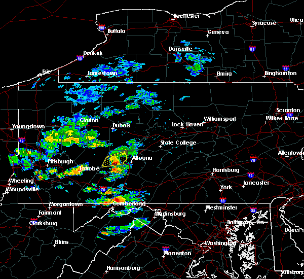 Radar Image for Severe Thunderstorms near Mundys Corner, PA at 7/21/2020 1:28 PM EDT