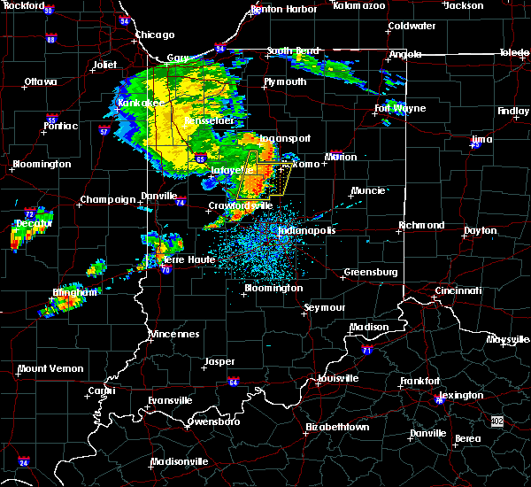 Radar Image for Severe Thunderstorms near Michigantown, IN at 7/21/2020 2:55 PM EDT