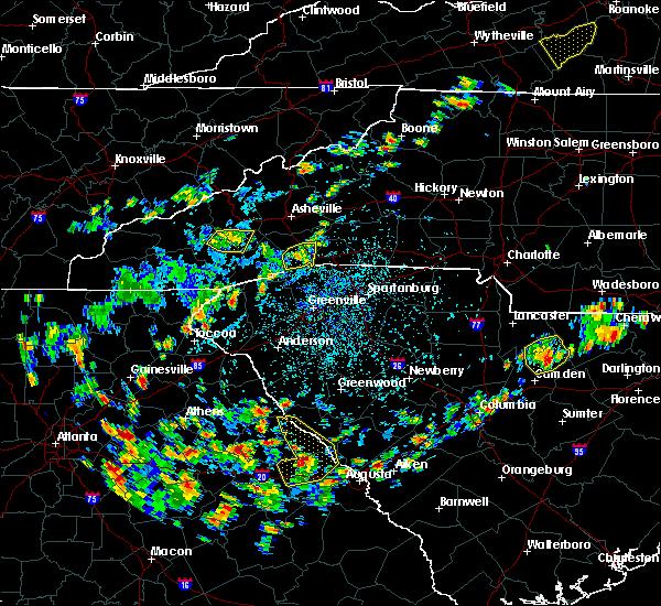 Radar Image for Severe Thunderstorms near Edneyville, NC at 7/21/2020 3:02 PM EDT