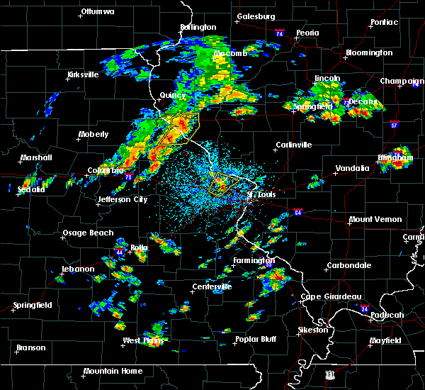 Radar Image for Severe Thunderstorms near Pearl, IL at 7/21/2020 2:15 PM CDT