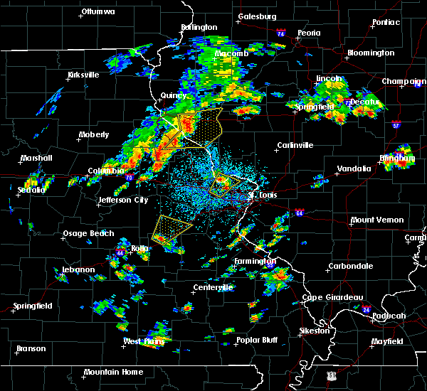 Radar Image for Severe Thunderstorms near Hazelwood, MO at 7/21/2020 2:22 PM CDT