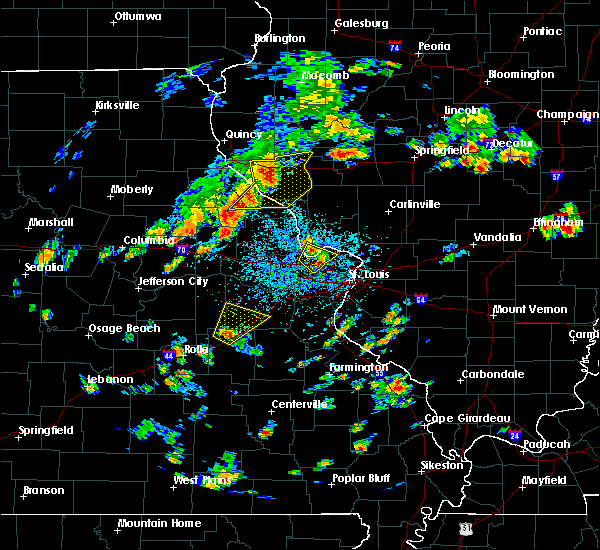 Radar Image for Severe Thunderstorms near Fieldon, IL at 7/21/2020 2:31 PM CDT
