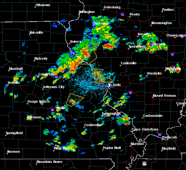 Radar Image for Severe Thunderstorms near Gerald, MO at 7/21/2020 2:35 PM CDT