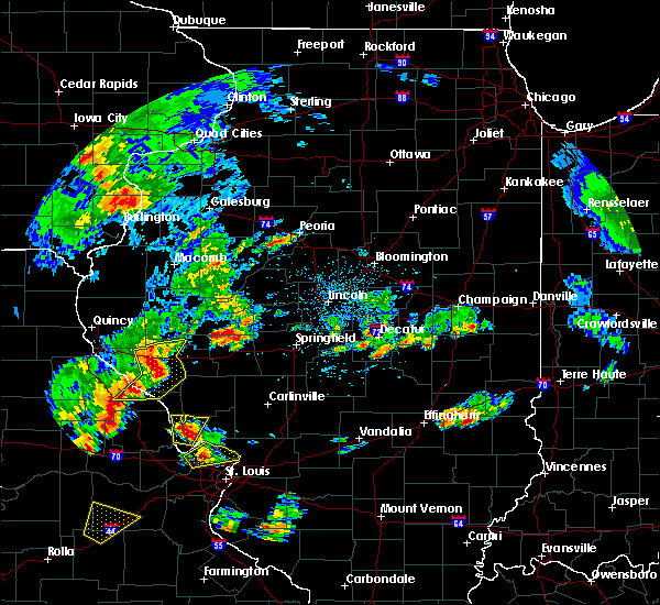 Radar Image for Severe Thunderstorms near Franklin, IL at 7/21/2020 2:44 PM CDT