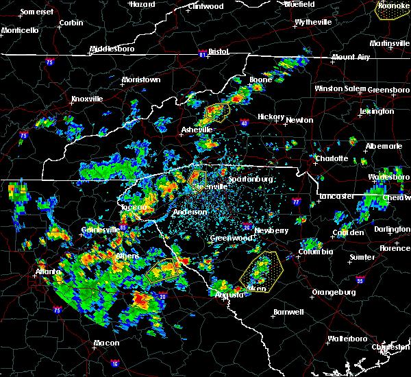 Radar Image for Severe Thunderstorms near Parker, SC at 7/21/2020 3:53 PM EDT