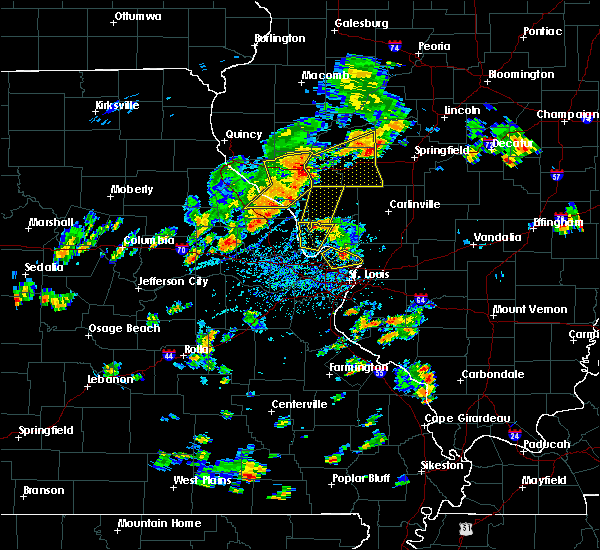Radar Image for Severe Thunderstorms near Hartford, IL at 7/21/2020 3:00 PM CDT