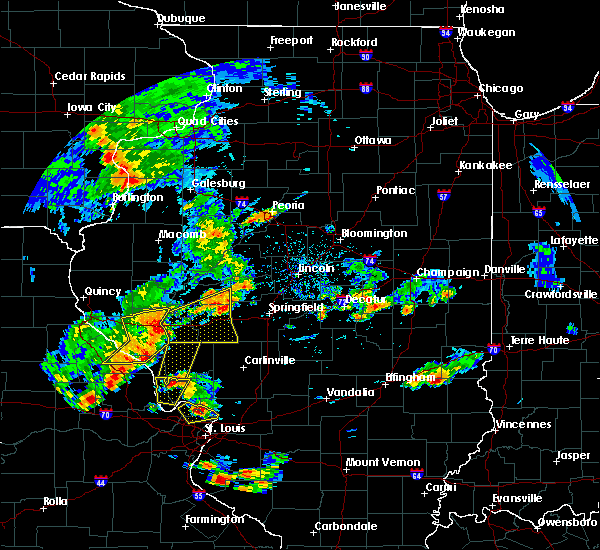 Radar Image for Severe Thunderstorms near Glasgow, IL at 7/21/2020 2:59 PM CDT