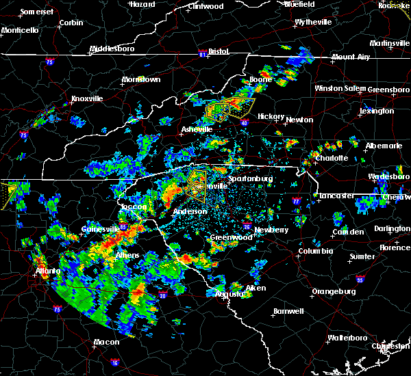 Radar Image for Severe Thunderstorms near Crossnore, NC at 7/21/2020 4:12 PM EDT