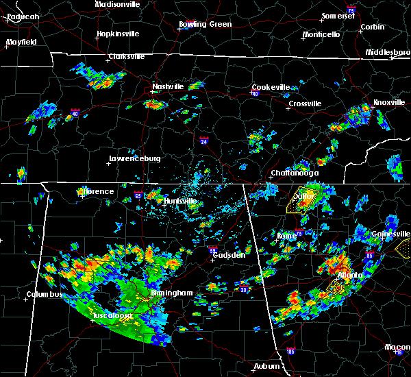 Radar Image for Severe Thunderstorms near Etowah, TN at 7/21/2020 4:35 PM EDT