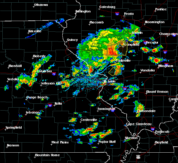 Radar Image for Severe Thunderstorms near White City, IL at 7/21/2020 4:00 PM CDT