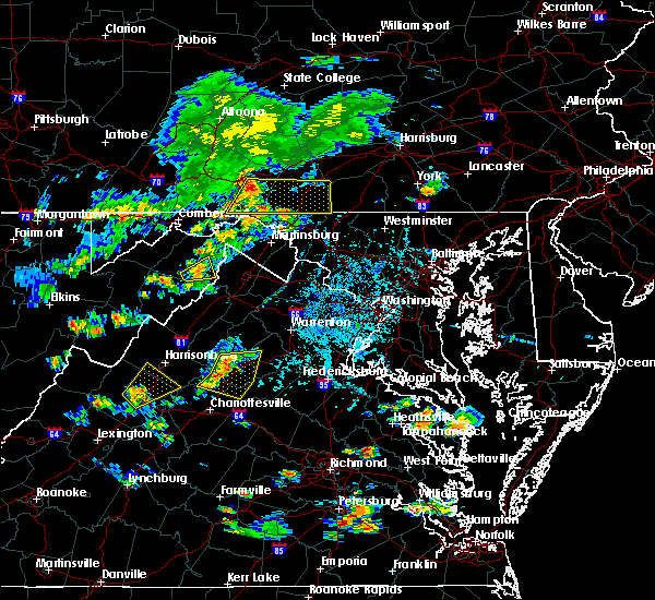 Radar Image for Severe Thunderstorms near Little Orleans, MD at 7/21/2020 5:20 PM EDT