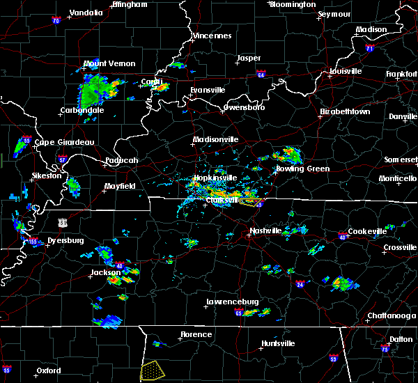 Radar Image for Severe Thunderstorms near Adairville, KY at 7/21/2020 5:09 PM CDT